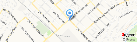 Рубин на карте Георгиевска