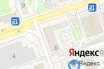 Схема проезда до компании НКБ РАДИОТЕХБАНК в Дзержинске