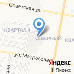 Дзержинская мебельная фабрика на карте Дзержинска