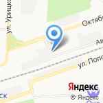 Магазин антенного оборудования и электротехники на карте Дзержинска