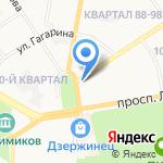 Альянс на карте Дзержинска