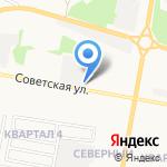 Автосервис на карте Дзержинска