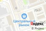 Схема проезда до компании Текстильщик в Дзержинске