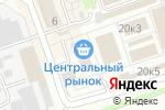 Схема проезда до компании Русская птица в Дзержинске
