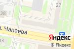 Схема проезда до компании БЕГЕМОТиК в Дзержинске