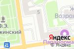 Схема проезда до компании Катана в Дзержинске