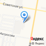 Спарта на карте Дзержинска