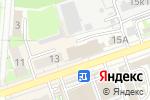 Схема проезда до компании Фиксатор в Дзержинске