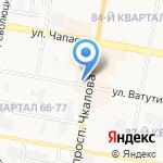 Алси на карте Дзержинска