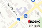 Схема проезда до компании Средняя общеобразовательная школа №9 в Георгиевске