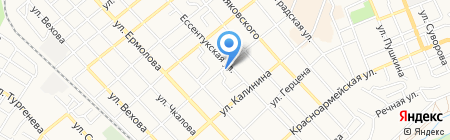 Эллас на карте Георгиевска