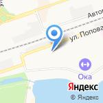 Стоматологическая практика на карте Дзержинска