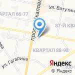ЗагниМеталл на карте Дзержинска