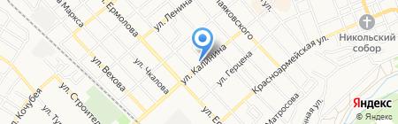 Комфорт на карте Георгиевска