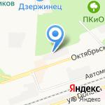 Сеть магазинов строительных и отделочных материалов на карте Дзержинска