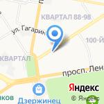 Фантазия на карте Дзержинска