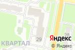 Схема проезда до компании Магнит Электроникс в Дзержинске