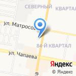 Авоська на карте Дзержинска