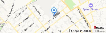 Банкомат Сбербанк России на карте Георгиевска