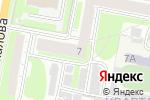 Схема проезда до компании ПОДПОЛЬЕ в Дзержинске