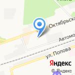 Киф на карте Дзержинска