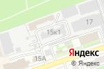 Схема проезда до компании Мастерская по резке стекла в Дзержинске