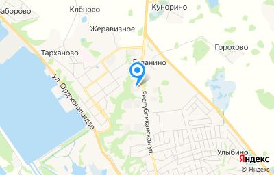 Местоположение на карте пункта техосмотра по адресу Нижегородская обл, г Городец, ул Республиканская, д 94