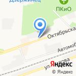 Огонёк на карте Дзержинска