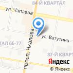 Чудо-картошка на карте Дзержинска
