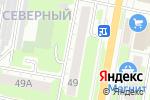 Схема проезда до компании Россияночка в Дзержинске