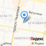 Специализированное монтажно-эксплуатационное управление Главного управления внутренних дел Нижегородской области на карте Дзержинска