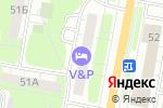 Схема проезда до компании Волна в Дзержинске