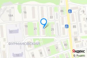 Двухкомнатная квартира в Городце ул. Фурманова, 23