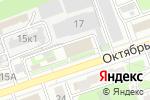 Схема проезда до компании MERA NN в Дзержинске
