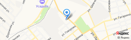 Строймастер-КМВ на карте Георгиевска