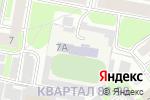 Схема проезда до компании ДЮСШ №3 по дуатлону и футболу в Дзержинске