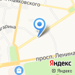 Территориальный орган федеральной службы государственной статистики по Нижегородской области на карте Дзержинска