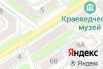 Схема проезда до компании Территориальный орган федеральной службы государственной статистики по Нижегородской области в Дзержинске