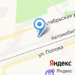 Ритуальные услуги на карте Дзержинска