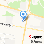 Церковная лавка на карте Дзержинска