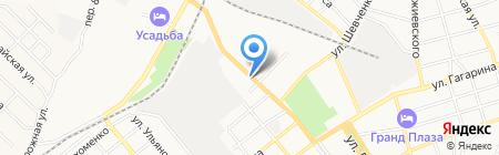 Аккорд на карте Георгиевска