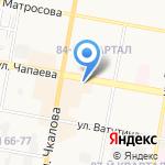 Магазин автозапчастей на карте Дзержинска