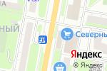 Схема проезда до компании Магазин продуктов на проспекте Чкалова в Дзержинске