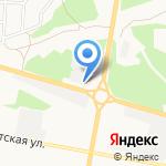 Солнышко на карте Дзержинска