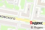 Схема проезда до компании Продукты в Дзержинске