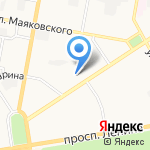 Адвокатская контора на карте Дзержинска