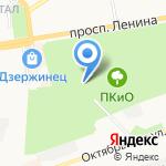 Башмачок на карте Дзержинска