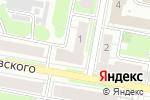 Схема проезда до компании Красное & Белое в Дзержинске
