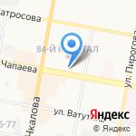 Цветочки & букетики на карте Дзержинска