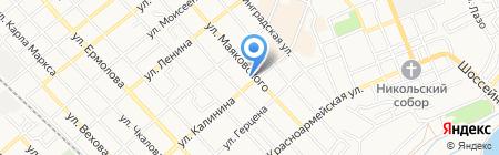 Скорая медицинская помощь на карте Георгиевска